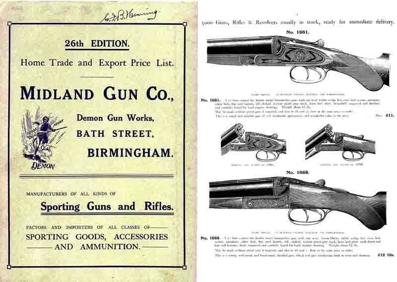 midland sporting guns 26th ed 1914 catalogue ebay. Black Bedroom Furniture Sets. Home Design Ideas