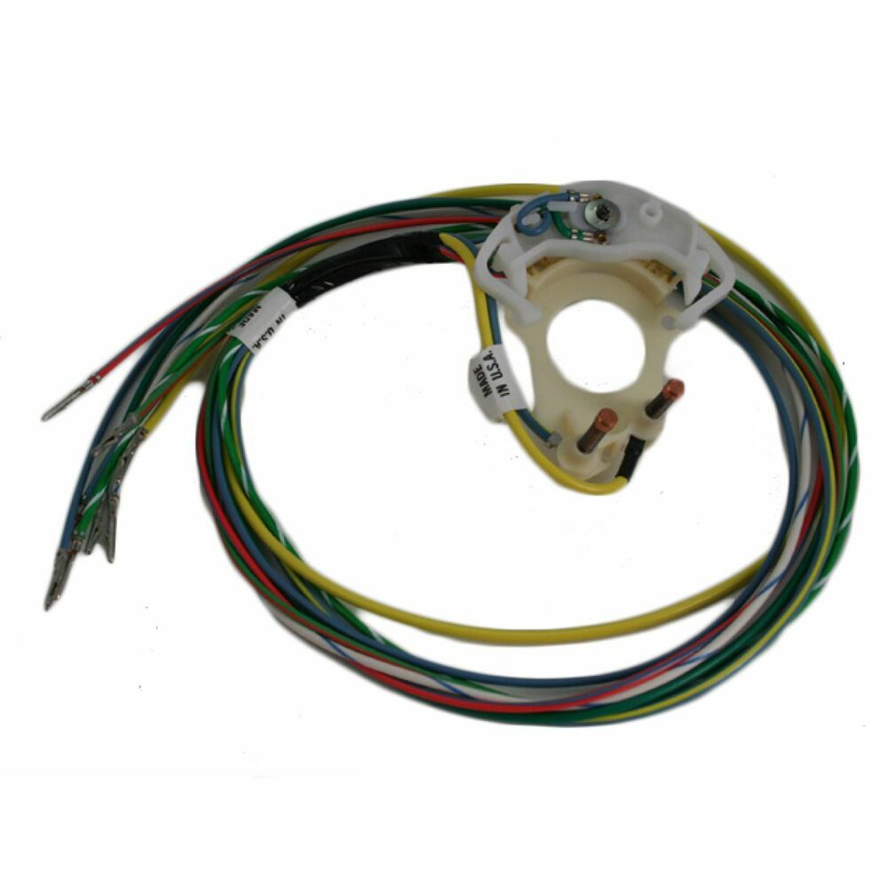 Details Zu New 19651966 Ford Mustang Turn Signal Switch Cam With Wire