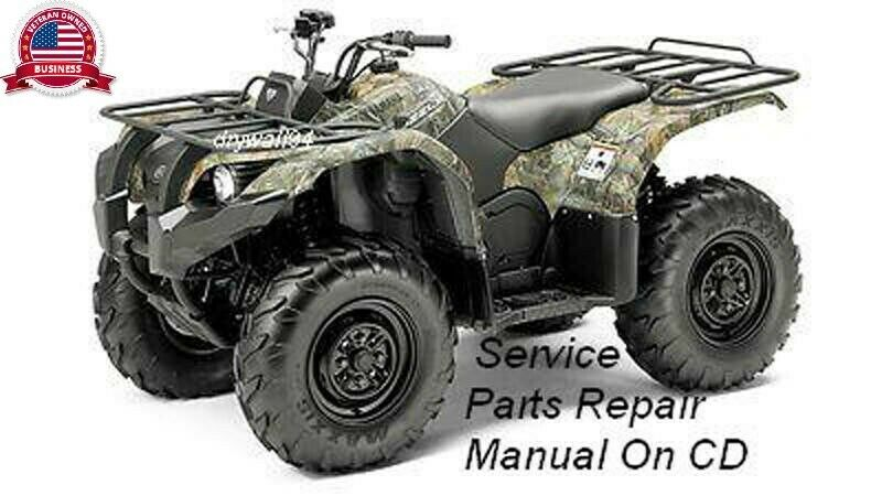 Yamaha grizzly 700 Owner Manual