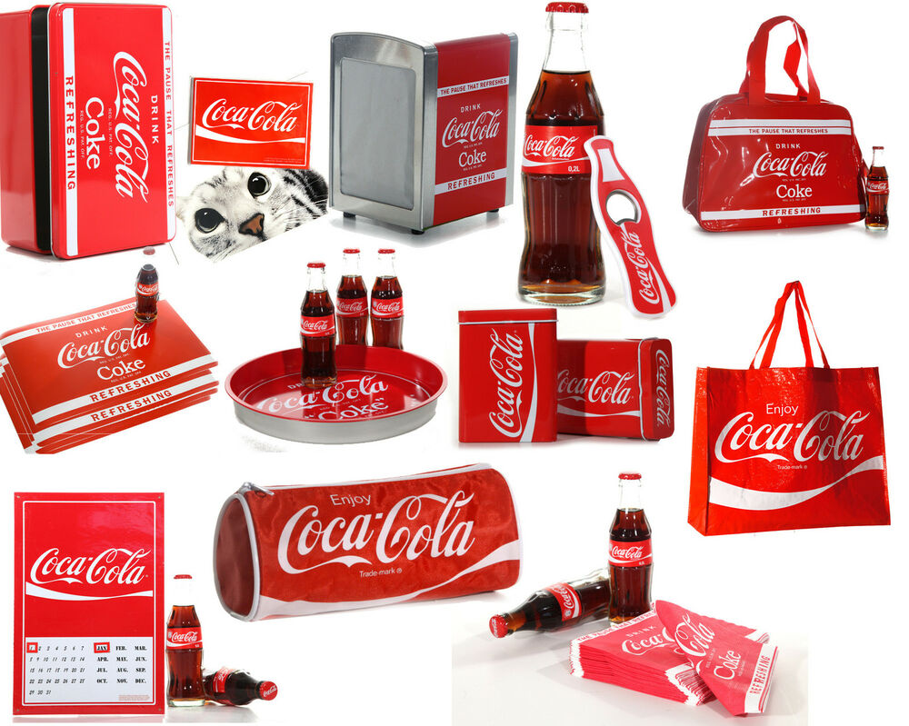 coca cola sammlerartikel fanartikel sammler geschenk tasche dose tablett magnet ebay. Black Bedroom Furniture Sets. Home Design Ideas