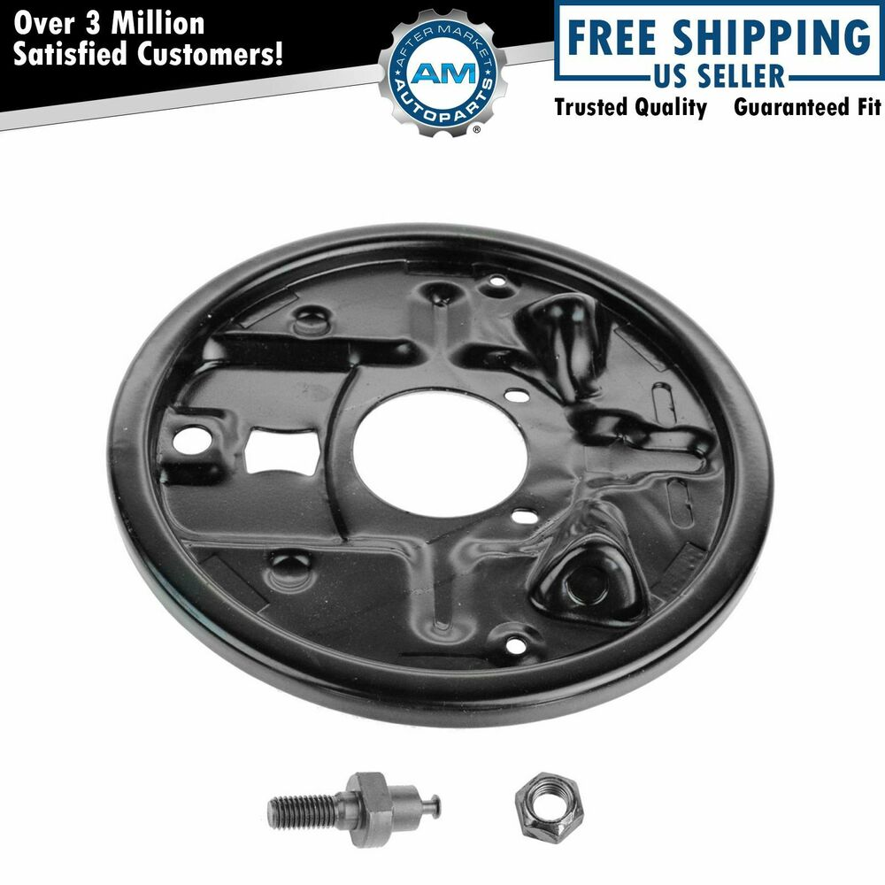 Chevy Truck Brake Backing Plate : Rear drum brake backing plate dust shield cover for buick
