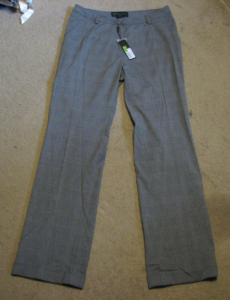 Lastest 7Encounter Women39s Plus Size Tweed Grey Ankle Pants  7 Encounter