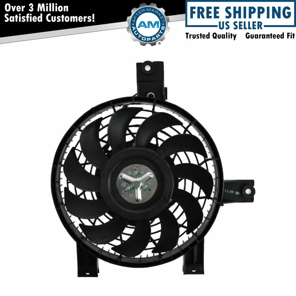Black Magic Electric Fans Ask Answer Wiring Diagram Fan A C Air Conditioning Condenser Cooling For 98 02 Land Cruiser Lexus Lx470 Ebay Xtreme