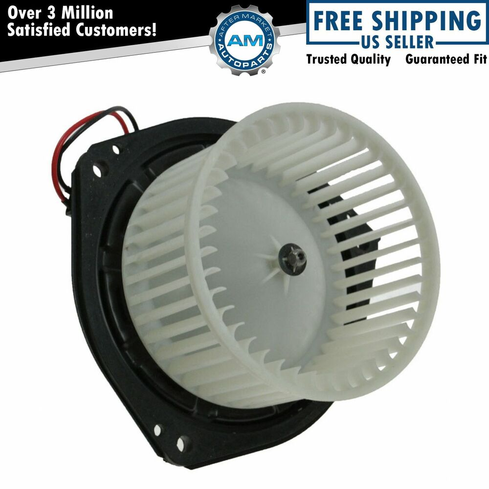Blower Cage Replacement : A c heater blower motor w fan cage for chevy century
