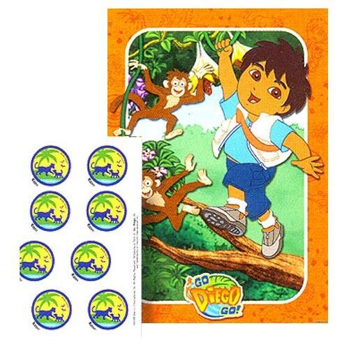 GO DIEGO GO PARTY GAME POSTER
