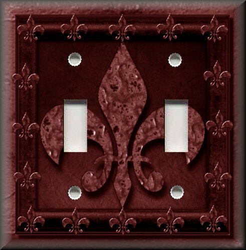 Light Switch Plate Cover Gothic Image French Fleur De