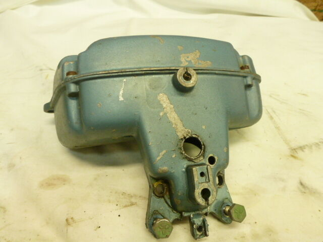 1960 evinrude 10 hp twinsport carb airbox silencer 10020 for 10 hp boat motors