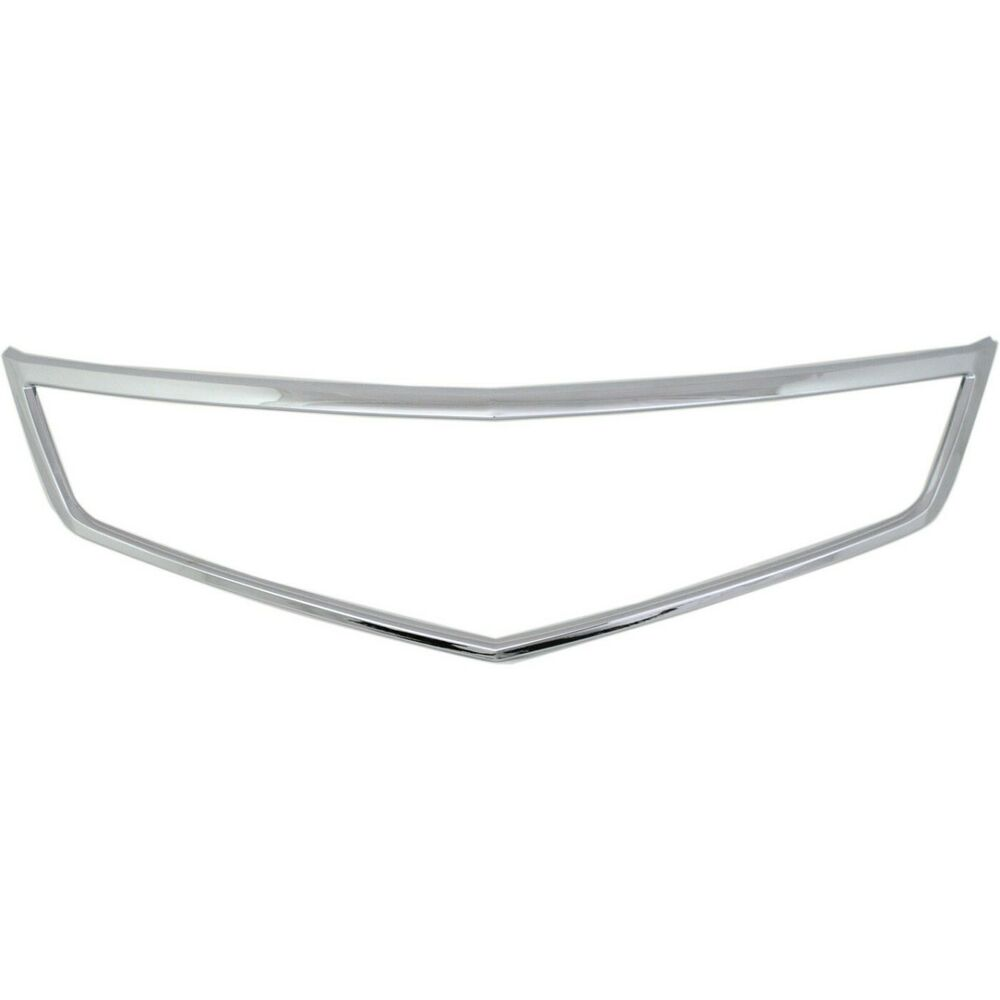 New Grille Trim Grill Chrome Acura TSX 2006-2008 AC1210108