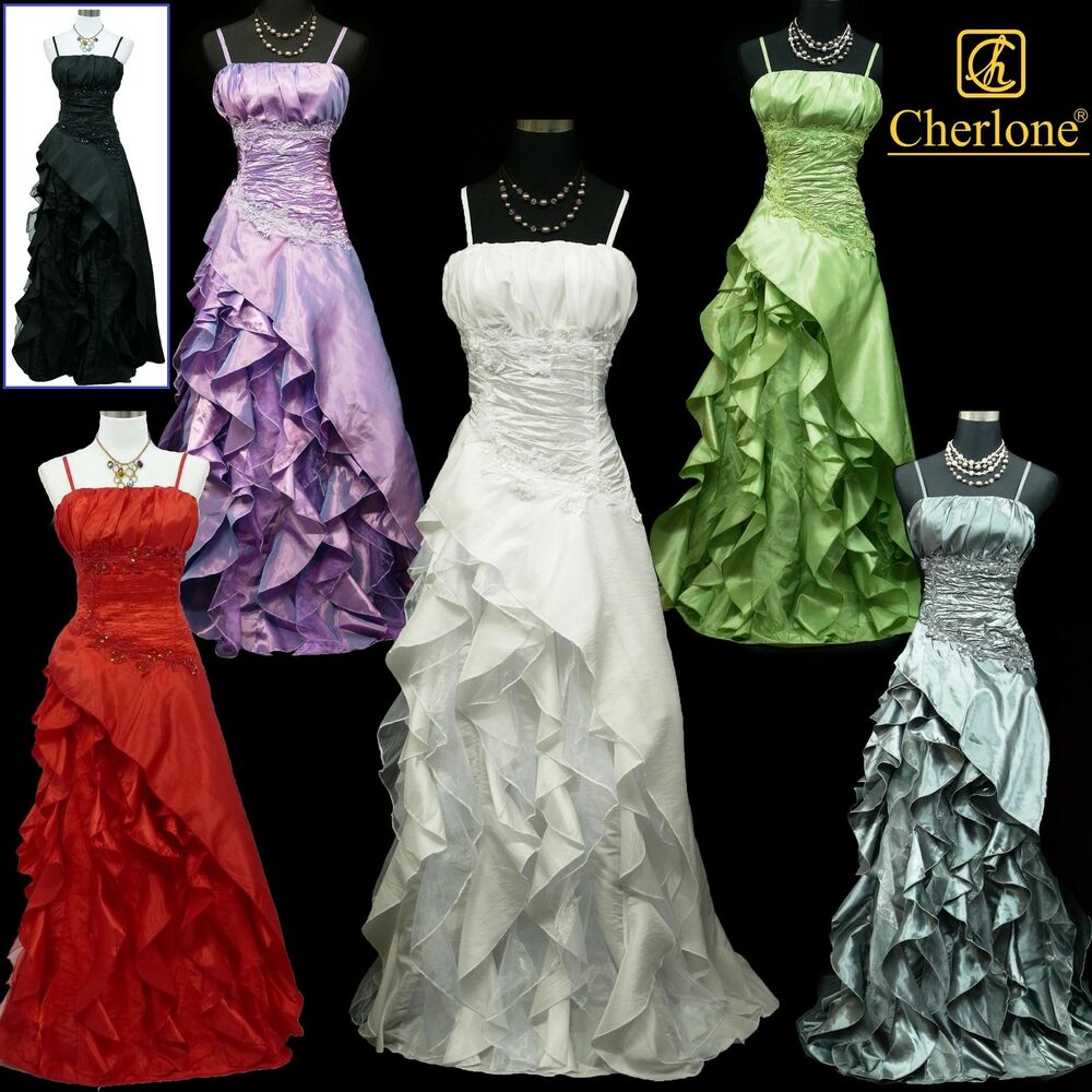 Cherlone satin ball lace sparkle long prom wedding evening for Add sparkle to wedding dress