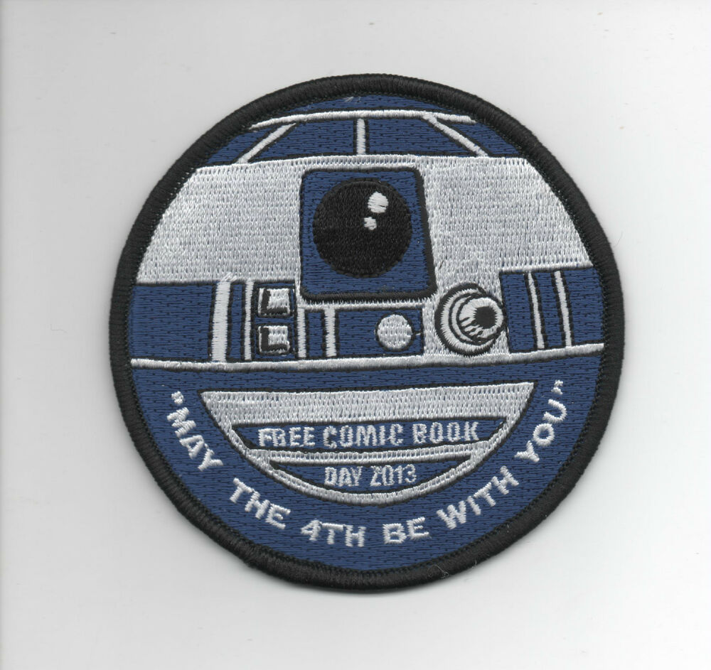 Star Wars R2-D2 Patch FCBD Free Comic Book Day 2013 May