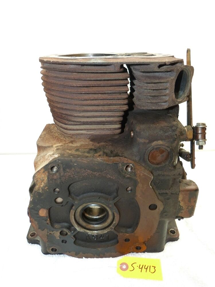 Allis Chalmers 416h Tractor Kohler K341 16hp Engine Block