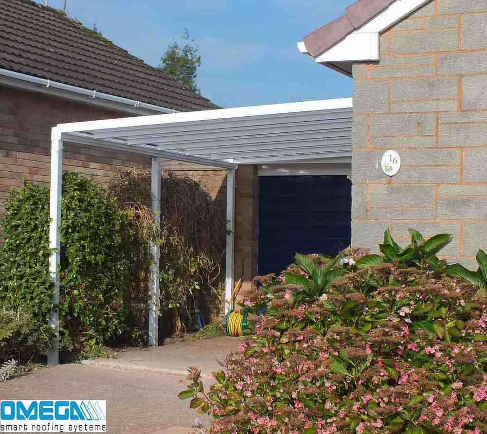 aluminium canopy carport patio or caravan cover 3m. Black Bedroom Furniture Sets. Home Design Ideas