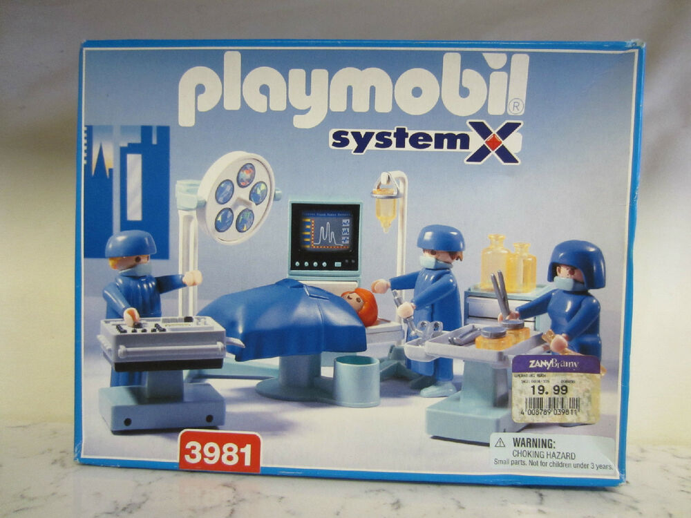 Playmobil 3981 Playmobil Hospital Operation Room Geobra