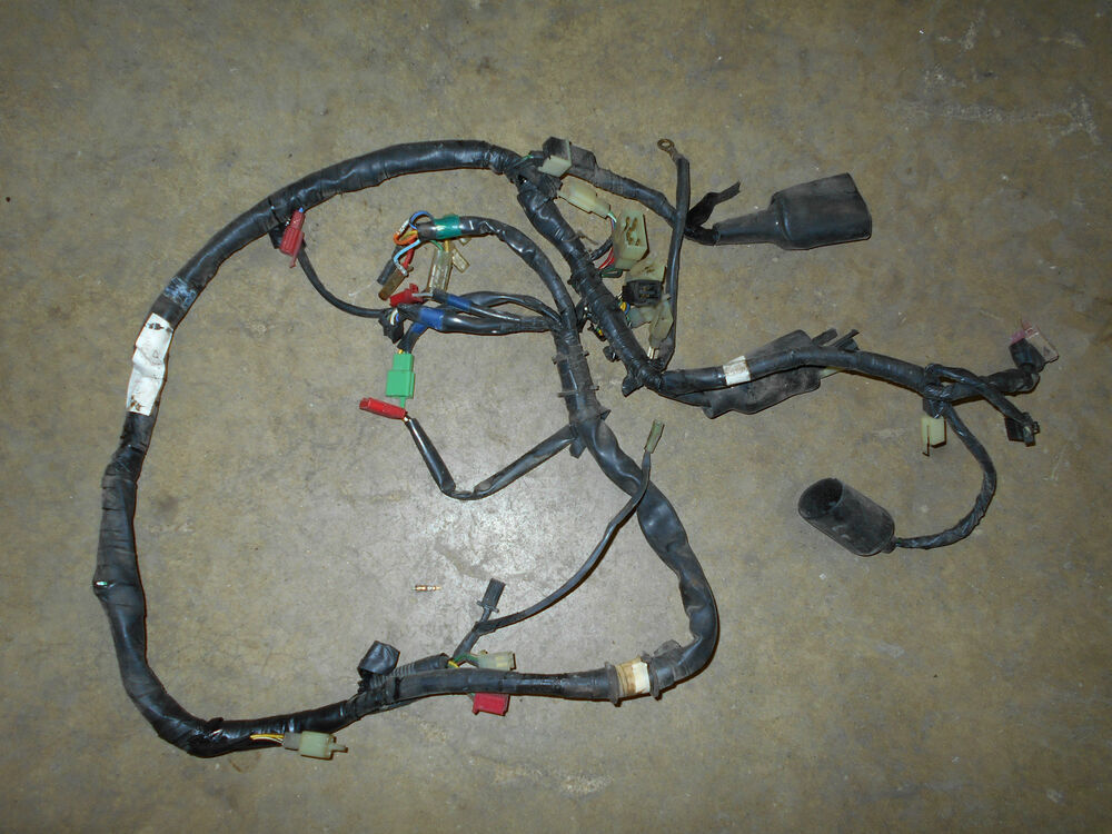 honda vt1100c vt1100 shadow 1100 main wiring wire harness. Black Bedroom Furniture Sets. Home Design Ideas