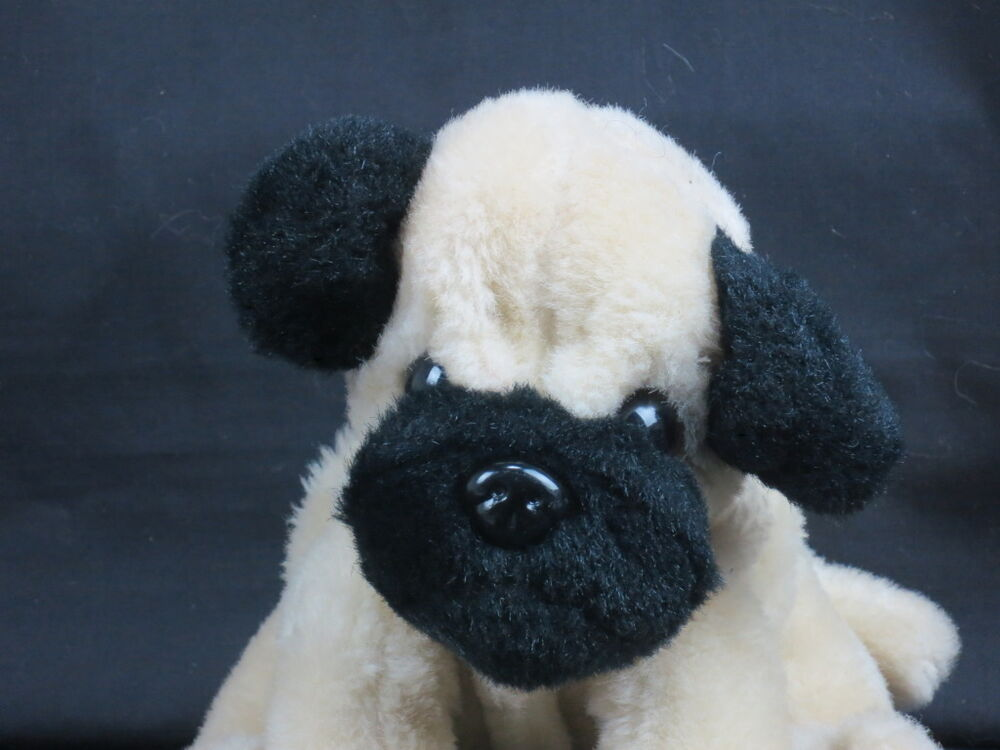 black pug stuffed animal target circo pug puppy dog tan black sits down plush 3501