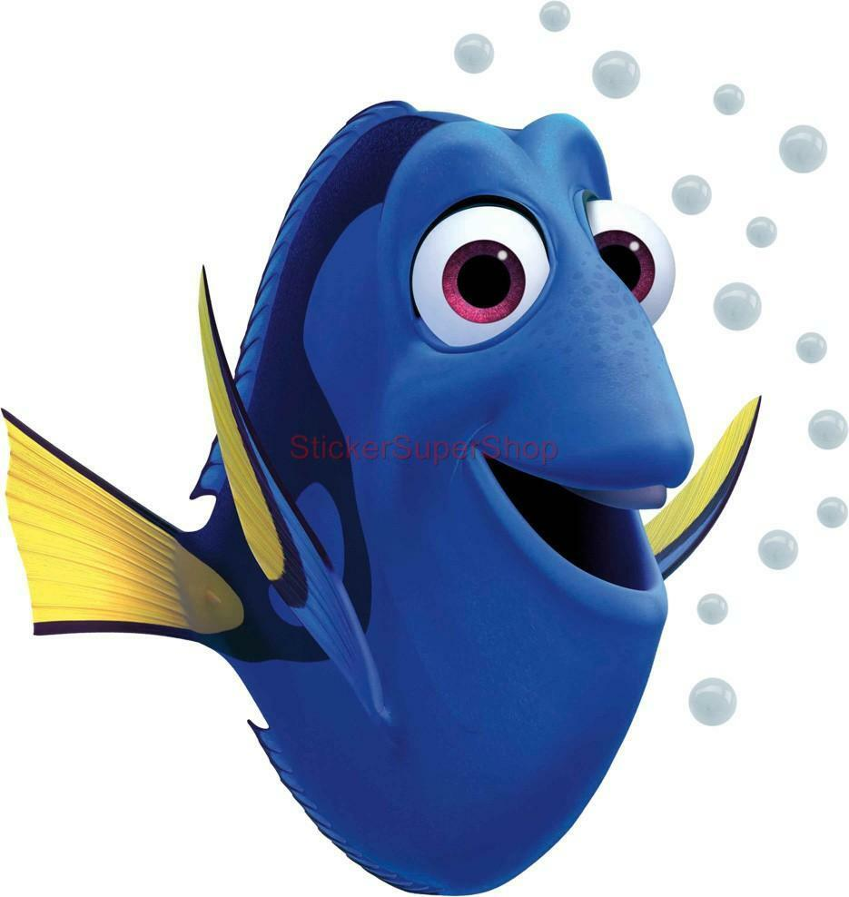 Dory Finding Nemo Disney Decal Removable Wall Sticker Home