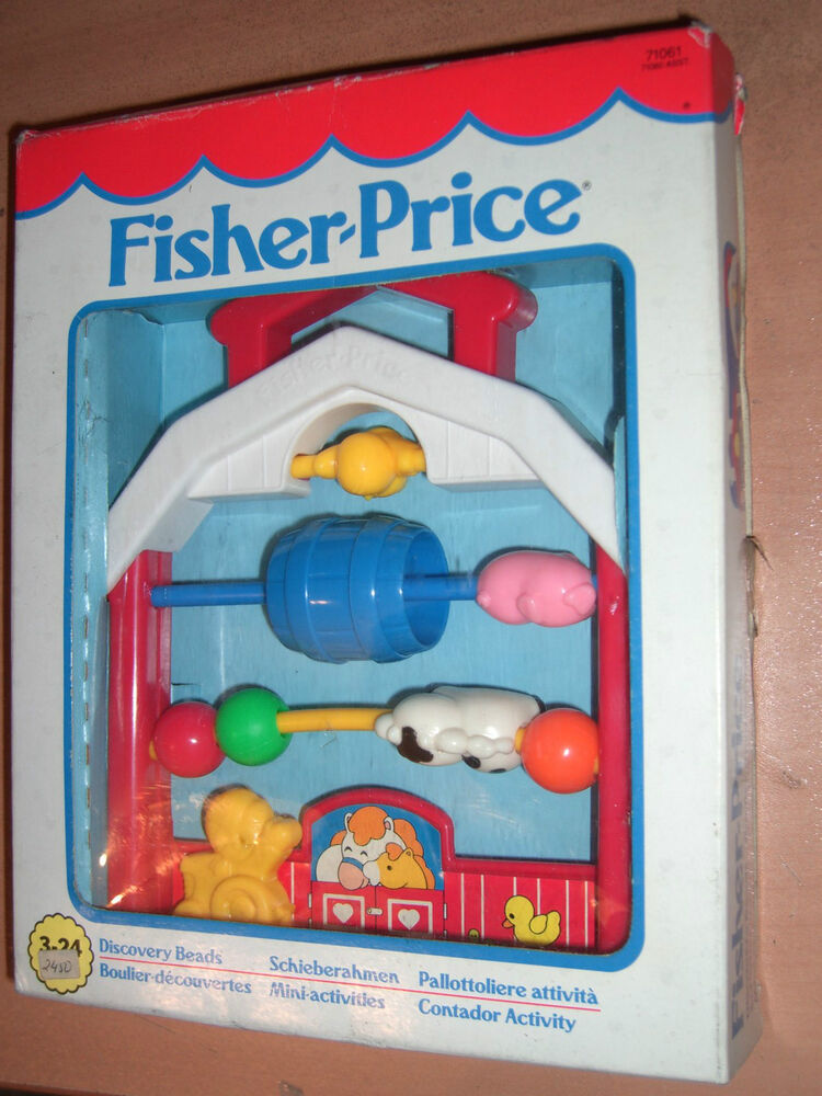 1994 Vintage Fisher Price Discovery Beads Toy Mib Ebay