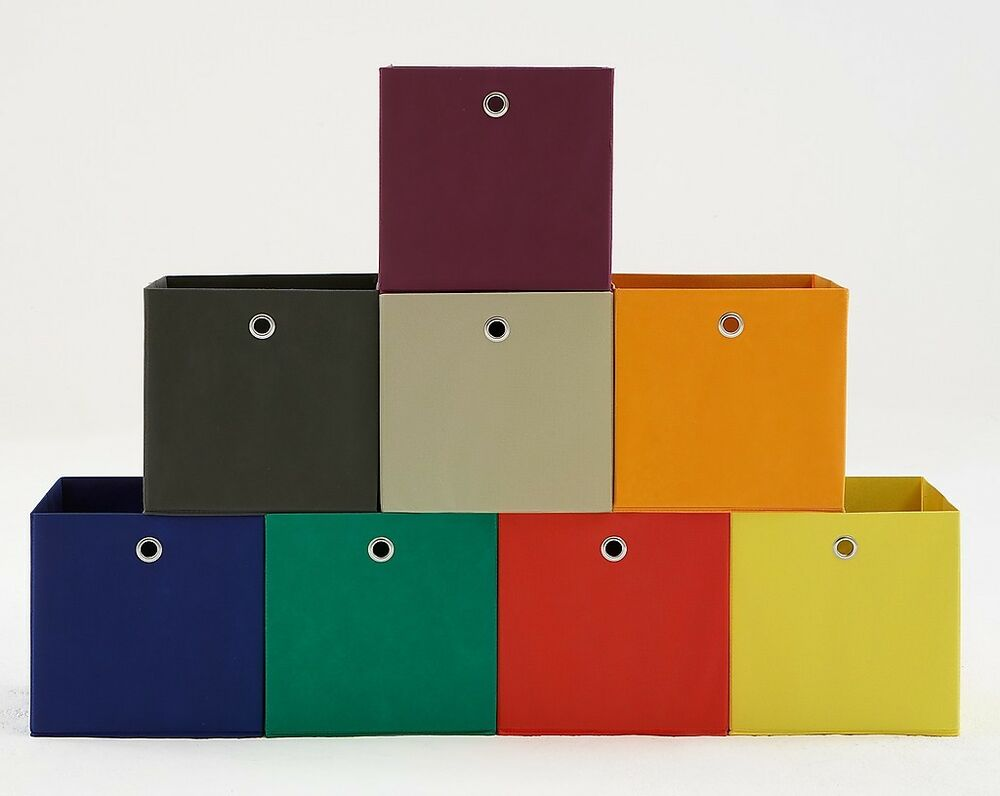 """Canvas Storage Boxes For Wardrobes: """"Mega3"""" Versatile Canvas Storage Box (for Use With"""