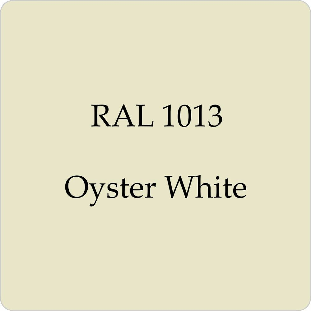 RAL 1013 Cellulose Budget Industrial/Classic Paint Oyster White 5L Free  Strainer | eBay