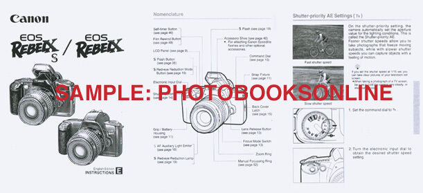 Eos Rebel g user manual