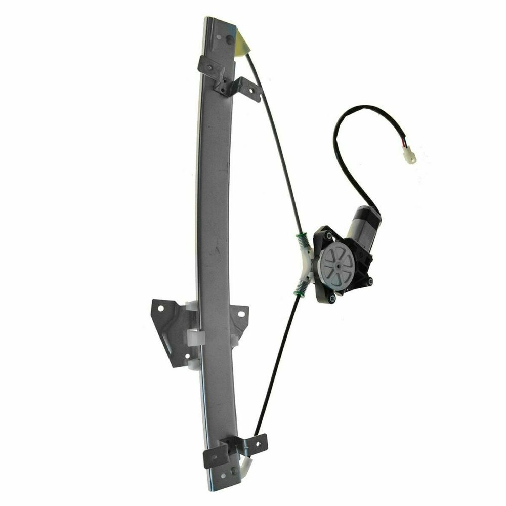 Front power window regulator w motor driver side left lh for 2000 mitsubishi galant window regulator