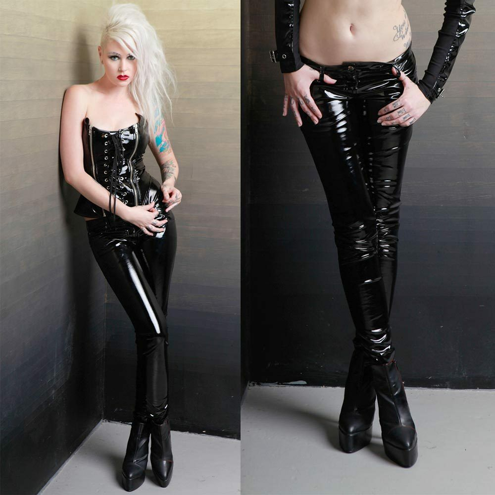 LIP SERVICE Girls Vinyl Sucker Pants LackHose Lackröhre PVC Leggings GOTHICHOSE  eBay