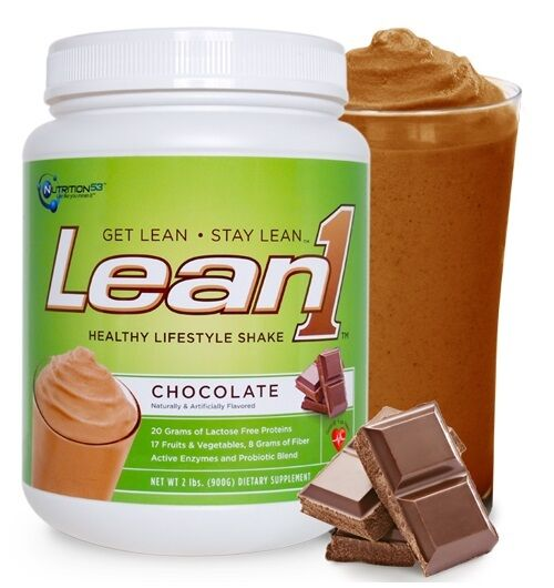 Nutrition53 LEAN1 Protein BUILD MUSCLE LOSE FAT 15