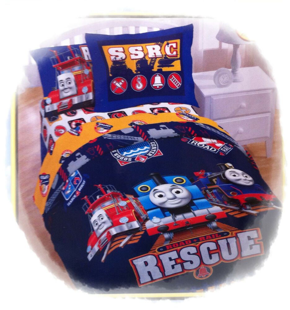 thomas the tank engine train sodor friends full double size bed