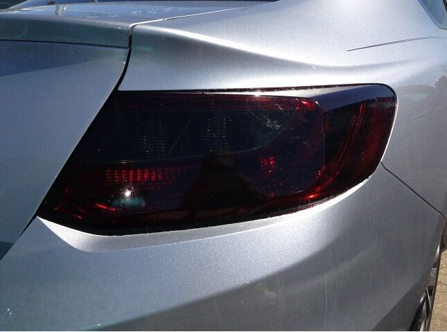 13 15 honda accord coupe 2dr smoke tail light precut tint. Black Bedroom Furniture Sets. Home Design Ideas
