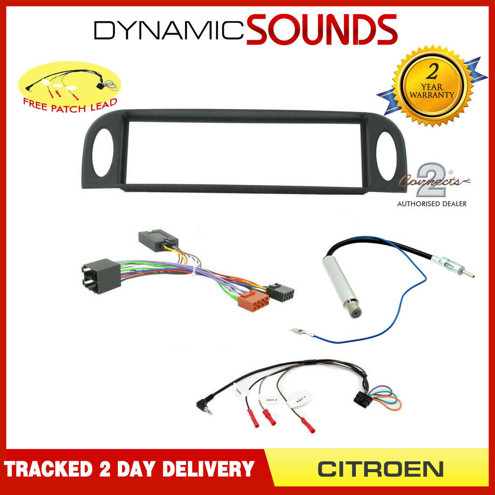 Car Cd Stereo Fitting Kit Fascia Steering Control Aerial