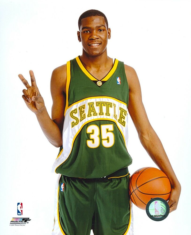 Seattle Supersonics Kevin Durant 8x10 Photo File Photo Ebay