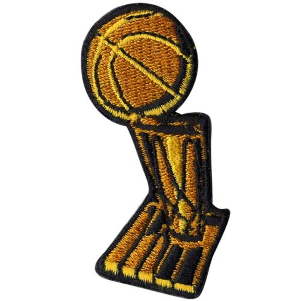 2007 2008 2009 NBA Finals Trophy Logo Jersey Patch Lakers