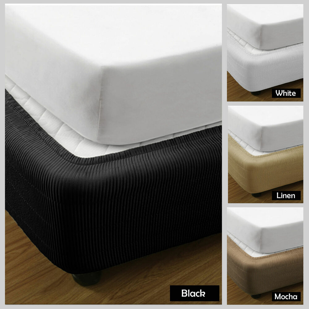 Black Valance For King Size Bed