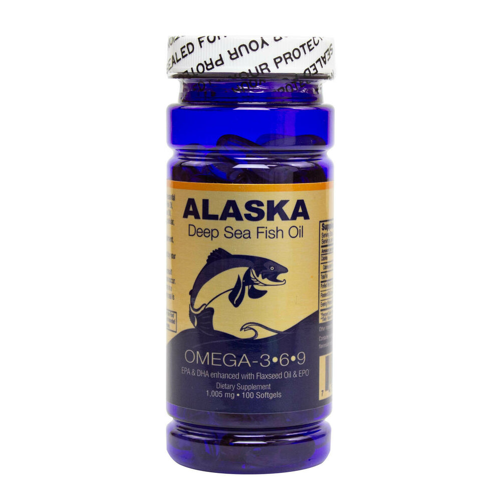 Alaska deep sea fish oil omega 3 6 9 epa dha flaxseed oil for What is omega 3 fish oil good for