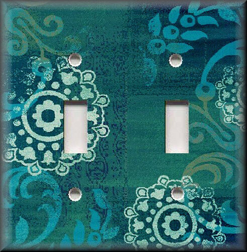 Light switch plate cover boho gypsy home decor for Home decorations on ebay