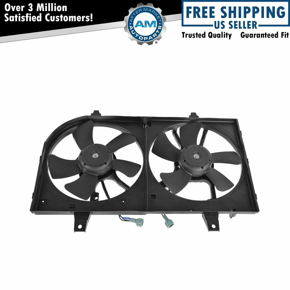 Radiator Cooling Fans : Radiator cooling fan motor assembly for nissan