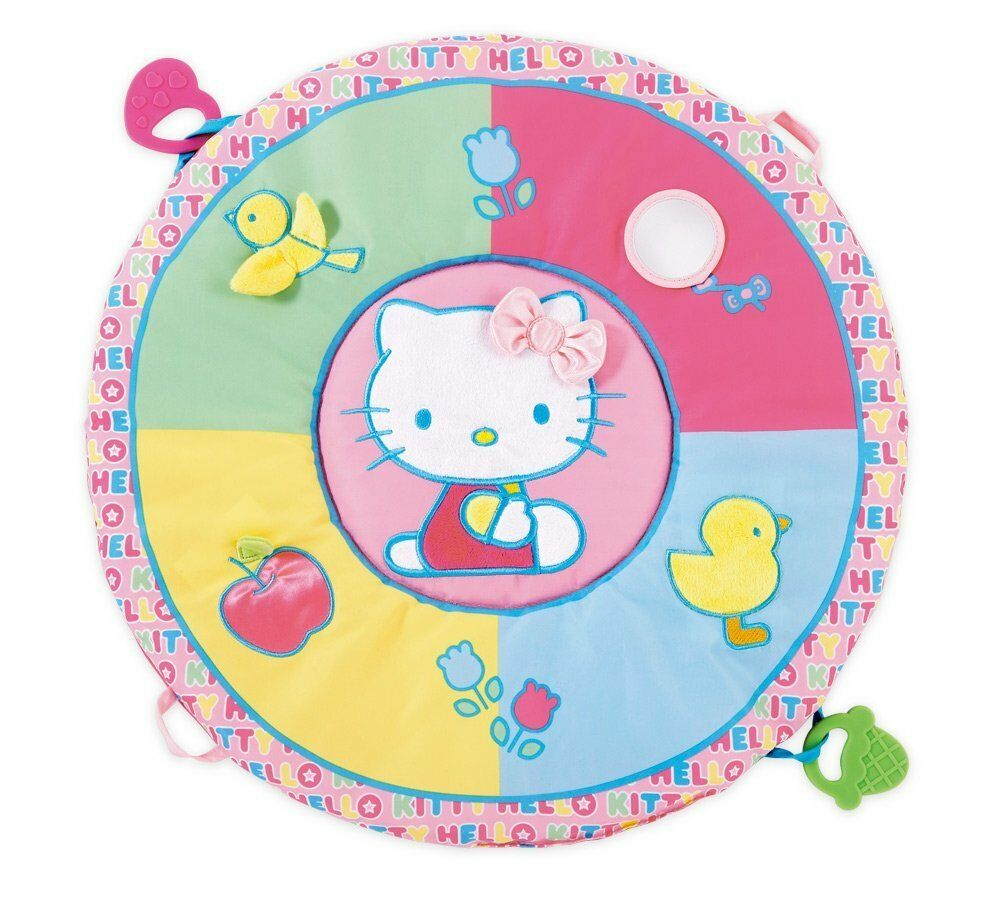 hello kitty baby tummy time play mat by i play ebay. Black Bedroom Furniture Sets. Home Design Ideas