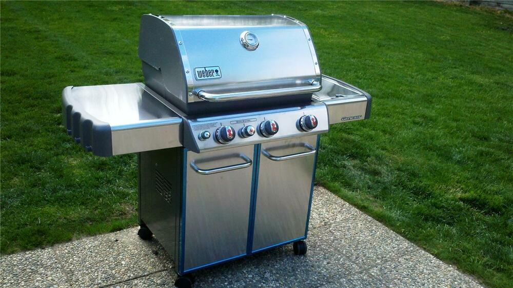 2013 new weber genesis s 330 s330 natural gas grill. Black Bedroom Furniture Sets. Home Design Ideas
