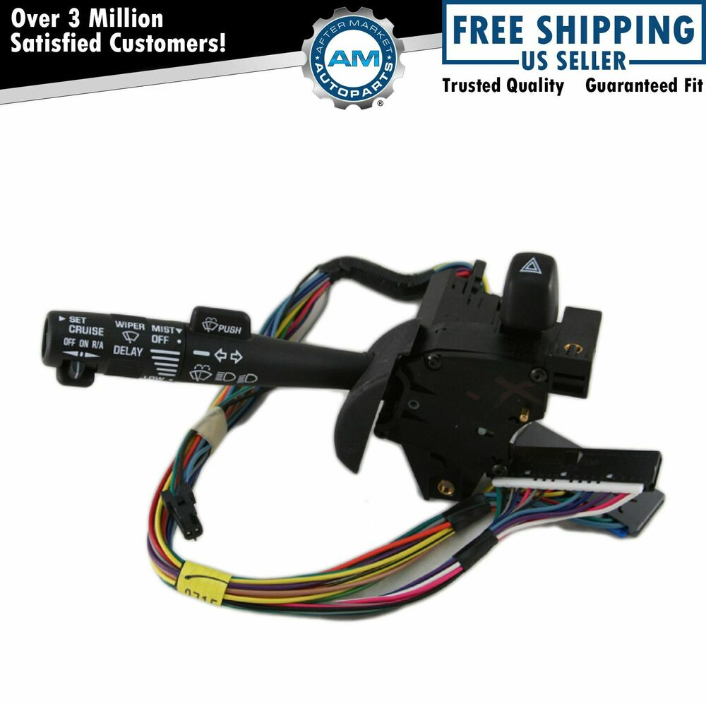 Does Cruisecontrol Wiper Control Switch : Turn signal windshield wiper lever switch w cruise