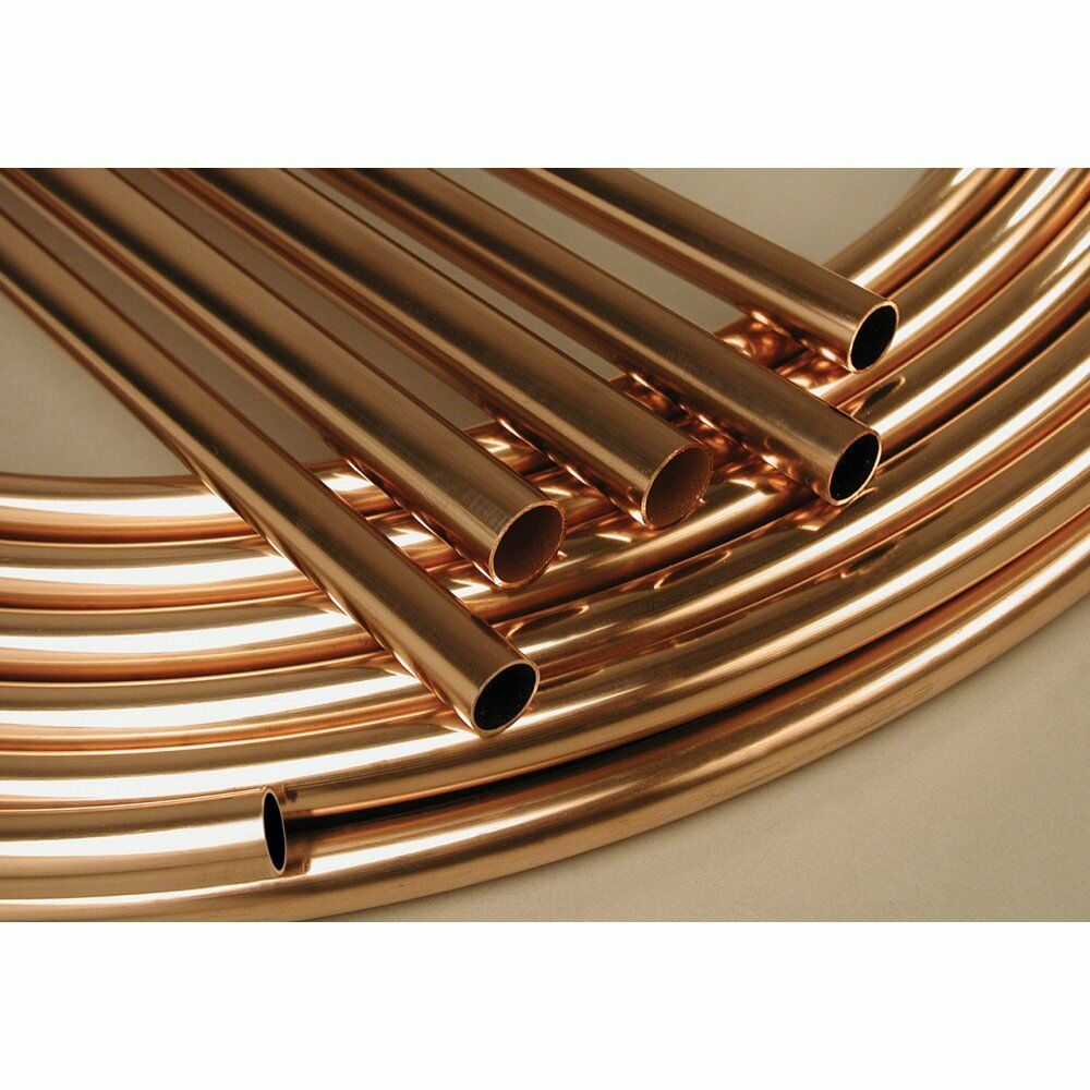 1m of 10mm water diameter plumbing copper pipe central for Copper pipe for water