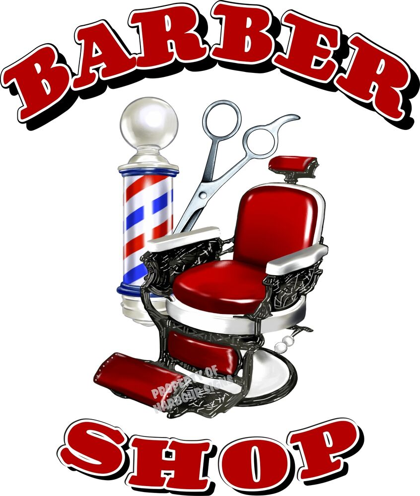 Barber Shop Men S Hair Cuts Care Vinyl Sign For Window