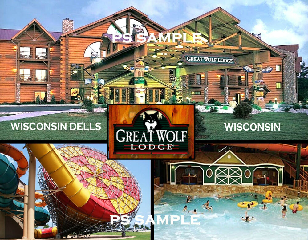 wisconsin dells great wolf lodge travel souvenir. Black Bedroom Furniture Sets. Home Design Ideas