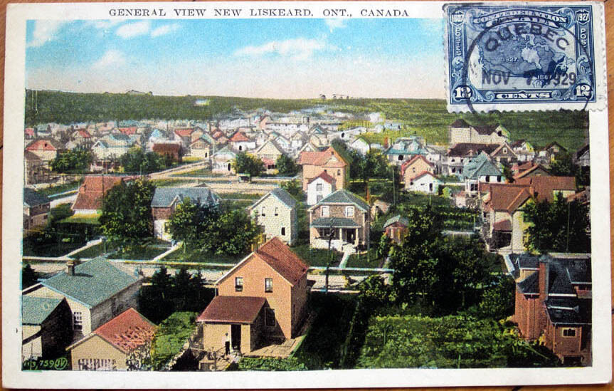 New Liskeard (ON) Canada  city pictures gallery : 1929 Postcard: 'General View New Liskeard, Ontario, Canada' | eBay