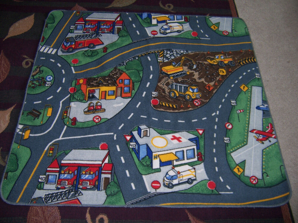 Road Carpet Rug Floor Mat For Hot Wheels Match Box Size