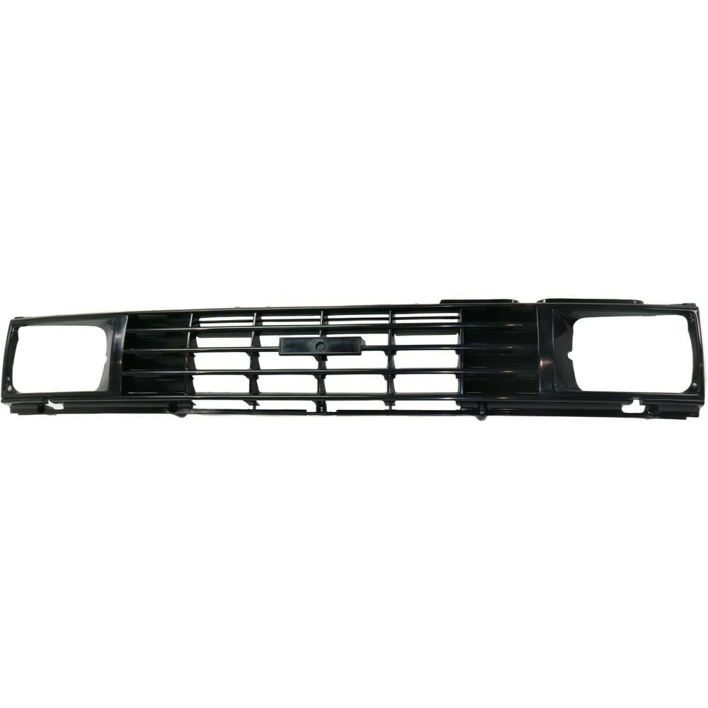 Toyota Truck Aftermarket Parts: Grille For 84-86 Toyota Pickup Black Plastic