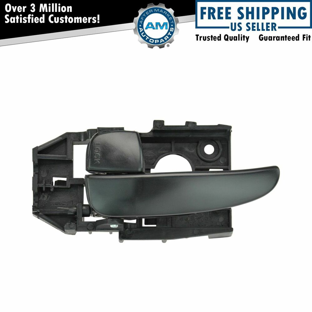 Front Black Interior Inside Door Handle Driver Side Left Lh For 01 06 Elantra Ebay
