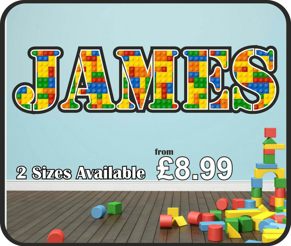 Lego Wall Art Stickers  Lego Wall Stickers EbayLego - Lego wall decals vinyl