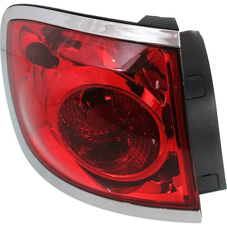 Tail Light For 08 12 Buick Enclave Driver Side Outer Body