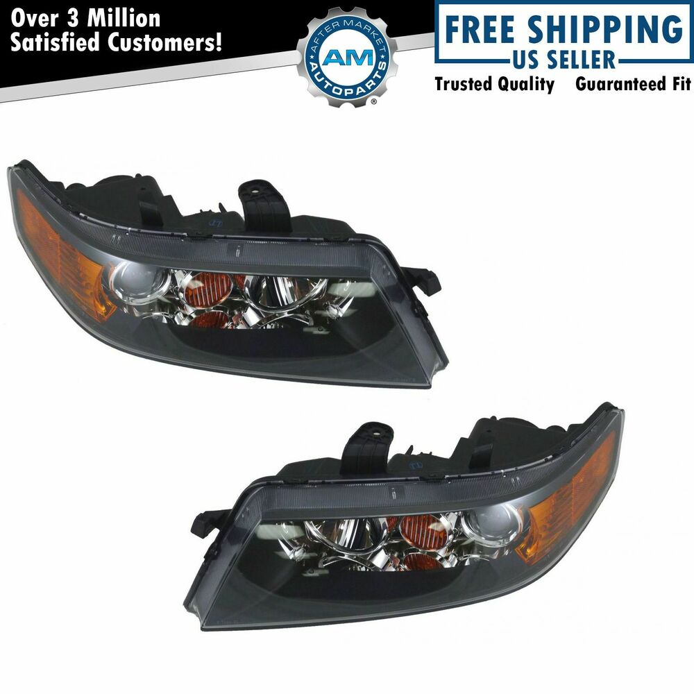 Headlight Headlamp Pair For Acura TSX 2006 2007 2008