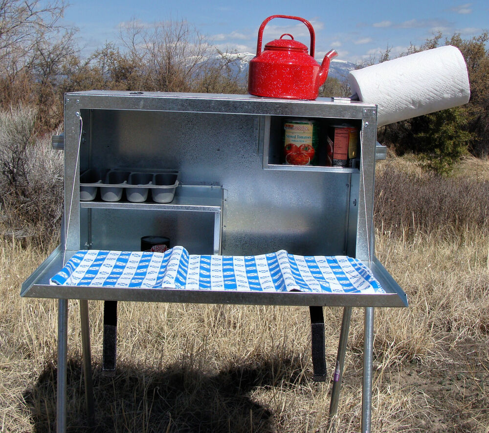 Camping Outdoor Kitchen Table